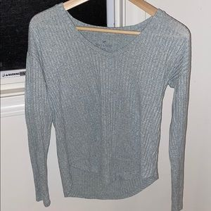 American eagle soft and sexy run long sleeve top
